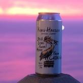 King Harbor Brewing Company  It's long swim home from Catalina west coast IPA  (16 oz)