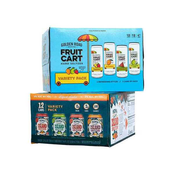 KingKeg Seltzer Craft 2. 12 pack Bundle