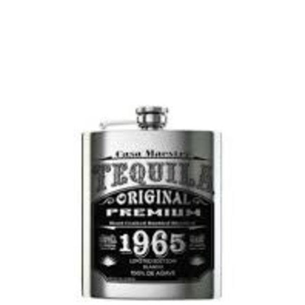 Casa Maestri 1965 Flask Edition Blanco Tequila (200ml)