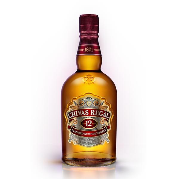 Chivas Regal Chivas Regal 12 Years Blended Scotch Whisky (750ml)