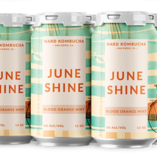 Juneshine  Blood Orange Mint  Hard Kombucha (6pkc/12oz)