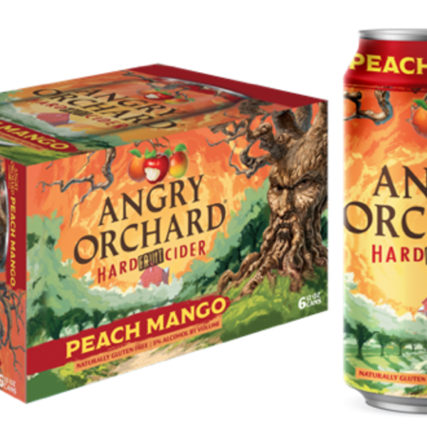 Angry Orchard Angry Orchard Peach Mango (6pkc/12oz)