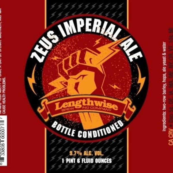 Lengthwise Zeus Imperial IPA (4pkc /12oz)
