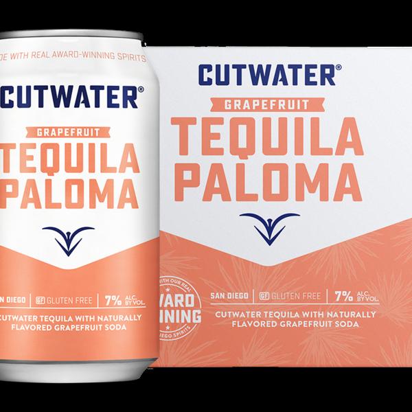 Cutwater Grapefruit Tequila Paloma (4pkc/12oz)