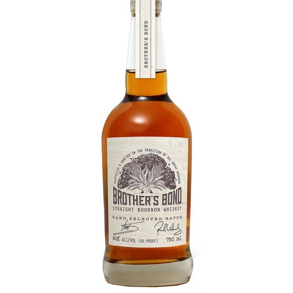 Brother's Bond Straight Bourbon Whiskey Hand Selected Batch (750ml)