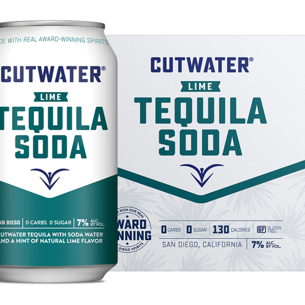 Cutwater Lime Tequila Soda (4pkc/12oz)