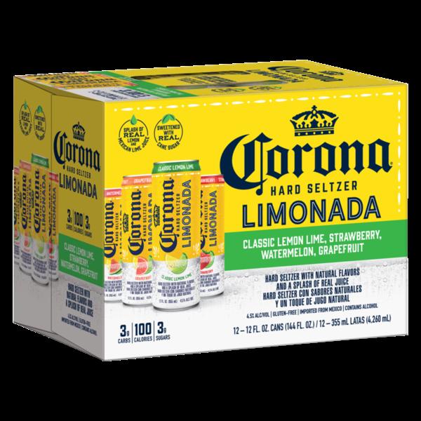 Corona Corona Limonada Hard Seltzer (12pkc/12oz)