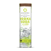 Drinkworks Simply Refreshing Collection Vodka Soda with Lime Cocktails (4 Pod Tube)