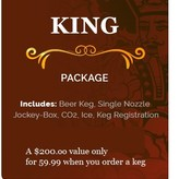 KingKeg King Package Party Rental