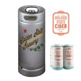 Golden State Golden State Mighty Dry Cider (5.5 GAL KEG)