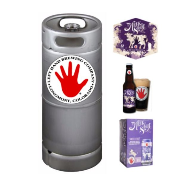 Left Hand Brewing Left Hand Milk Stout (5.5 GAL KEG)
