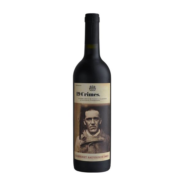19 Crimes 19 Crimes Cabernet Sauvignon 2015 (750ML)
