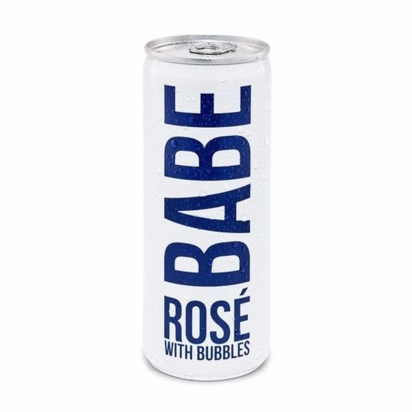 Babe Babe Rose with Bubble Cans (250ml)