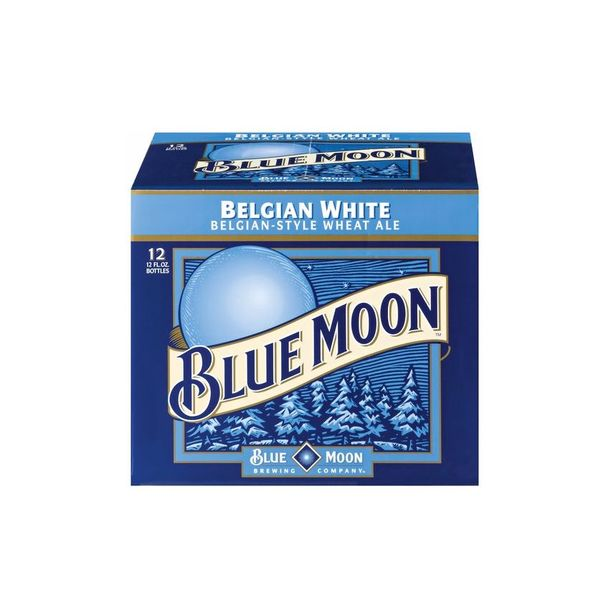 Bluemoon Blue Moon Belgian White  (12pkb/12oz)