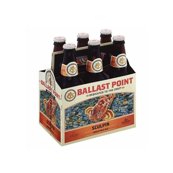 Ballast Point Brewing Company Ballast Point Sculpin IPA (6pkb/12oz)