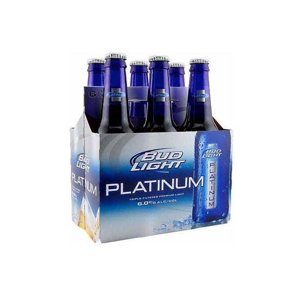 Anheuser-Busch Bud Light Platinum (6pkb/12oz)