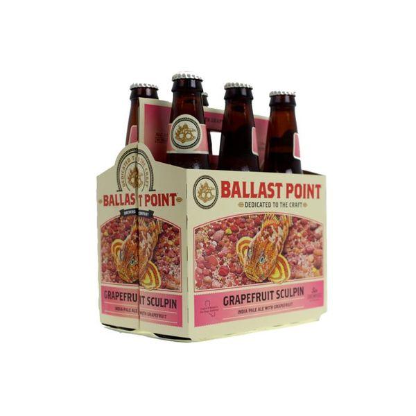Ballast Point Brewing Company Ballast Point Grapefruit Sculpin IPA (12OZ/6PK BTL)