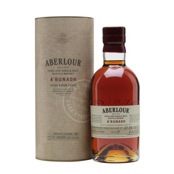 Aberlour Aberlour Abunadh Single Malt Scotch (750ML)