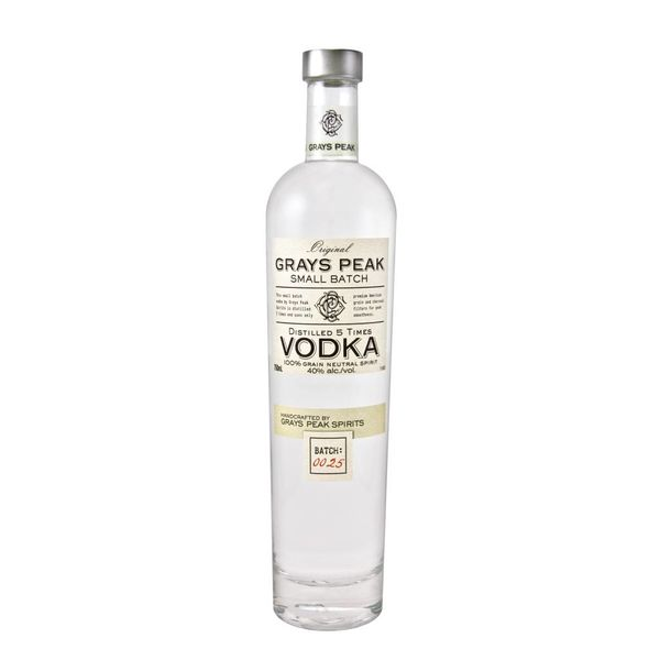 Grays Peak Vodka (750ml)