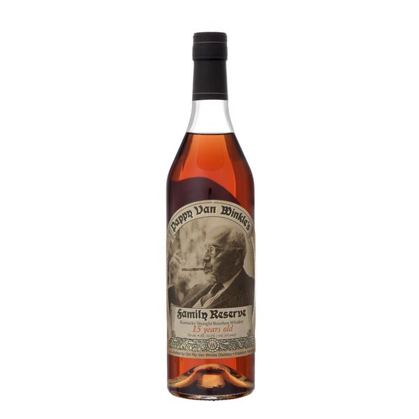 Pappy Van Winkle's Family Reserve Kentucky Straight Bourbon Whiskey 15 Years Old (750ml)