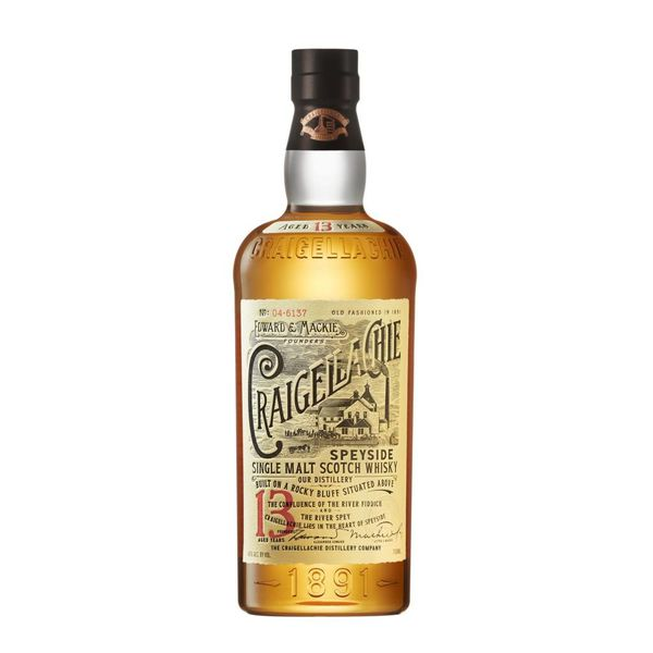 Edward & Mackie Founder Craigellachie 13 Year Old Speyside Single Malt Scotch Whiskey (750ML)