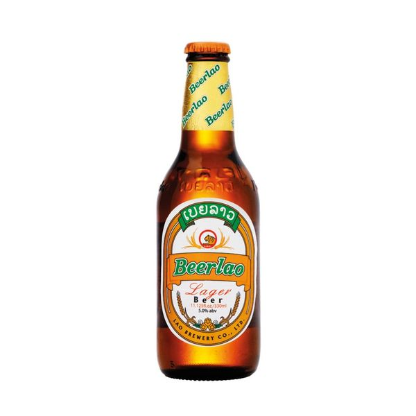 Beerlao Lager beer Imported from Laos (6PK BOTTLES)