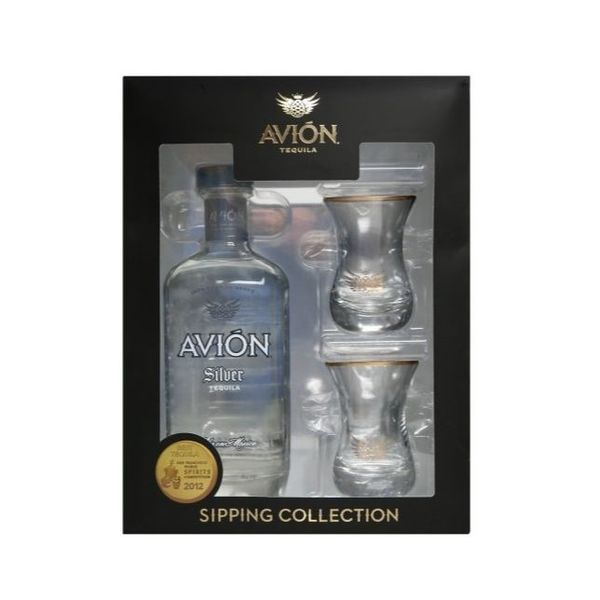 Avion Tequila Silver Sipping Collection Gift Set