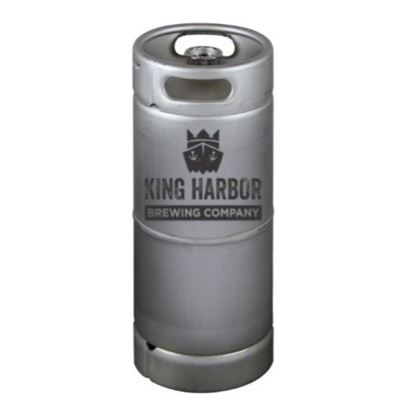 King Harbor Welcome to King Harbor Kölsch (5.5 GAL KEG)