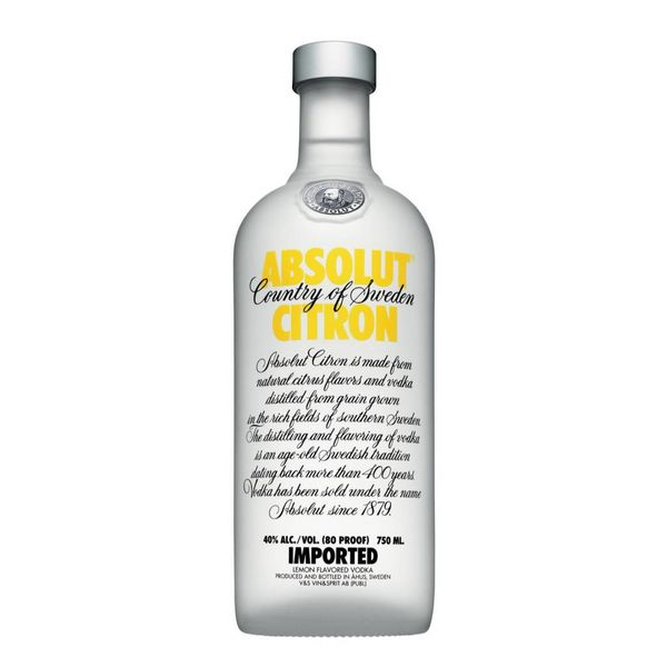 Absolut Absolut Citron (750ML)
