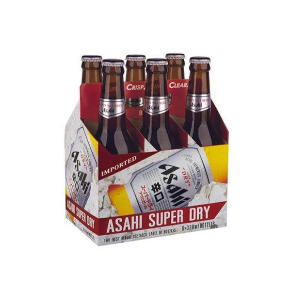 Asahi Asahi Super Dry (12OZ/6PK BOTTLES)