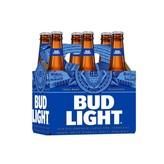 Anheuser-Busch Bud Light (12OZ/6PK BOTTLES)