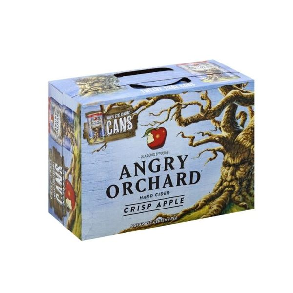 Angry Orchard Angry Orchard Crisp Apple Hard Cider (12OZ/12PK CAN)