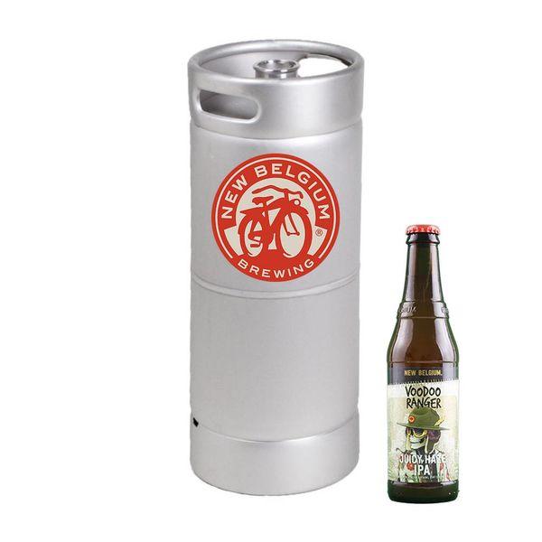 New Belgium New Belgium Brewing Company Voodoo Ranger Juicy Haze IPA (5.5 GAL KEG)
