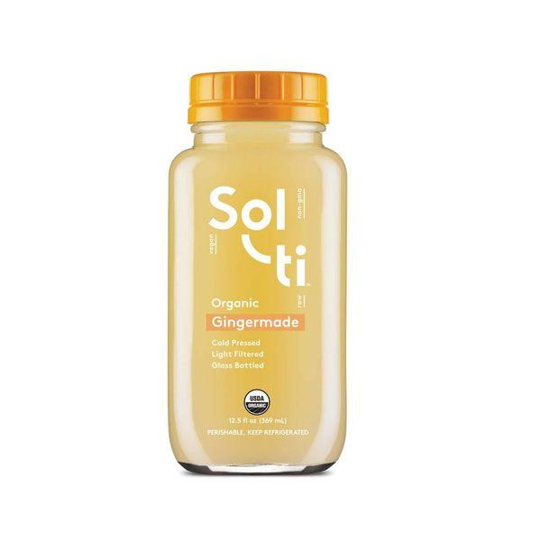 Solti Solti Organic Gingermade 12fl oz