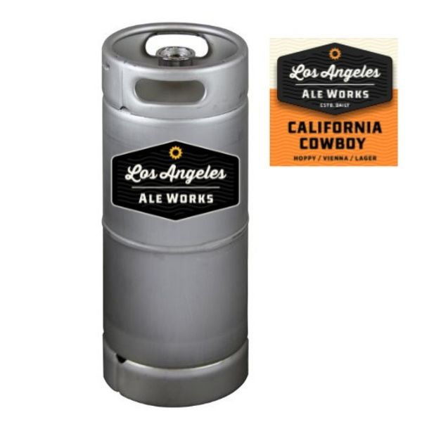 Los Angeles Ale Works Cowboy Hoppy Lager (5.5 GAL KEG)