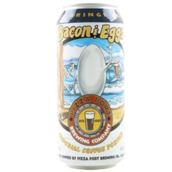 Pizza Port Brewing Pizza Port Brewing Bacon & Eggs Imperial Coffee Porter (16OZ CAN)