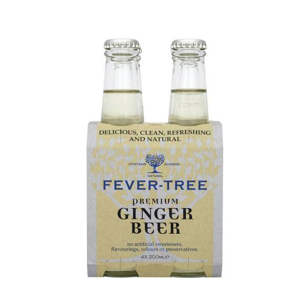 Fever Tree Fever-Tree Ginger Beer (200ML/4PK BTL)