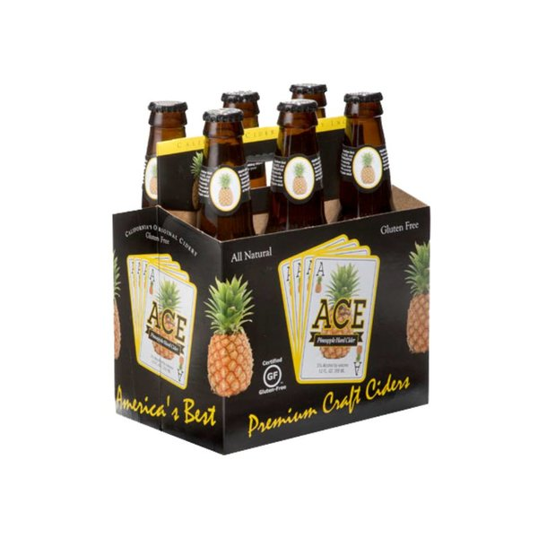 Ace Pineapple Hard Cider (12OZ/6PK BTL)