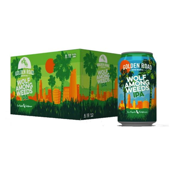 Golden Road Golden Road Wolf Among Weeds (12OZ/6PK CAN)