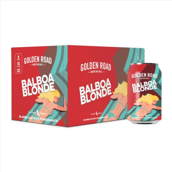 Golden Road Golden Road Balboa Blonde (12OZ/6PK CAN)