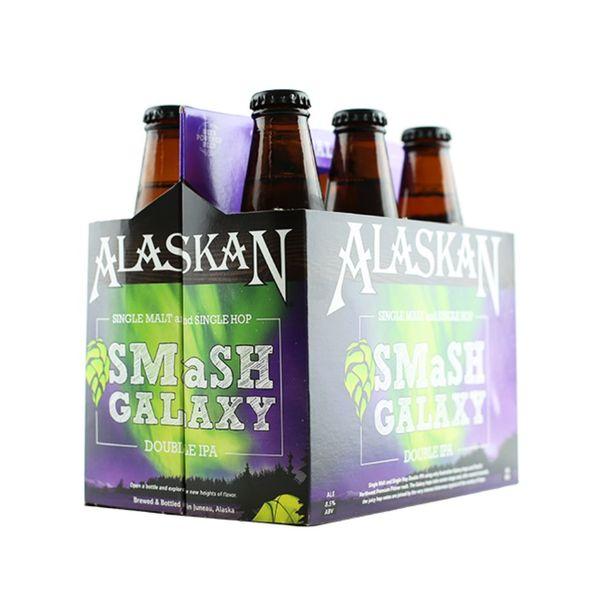 Alaskan SMaSh Galaxy Double IPA (12OZ/6PK BTL)
