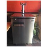 Commercial Grade Double Faucet Kegerator Rental
