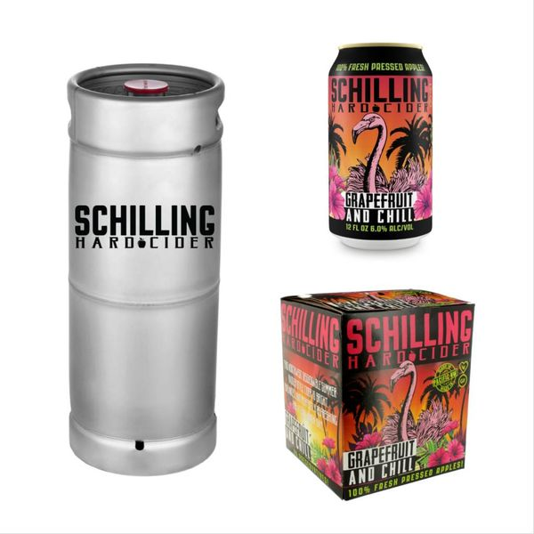 Schilling & Company Hard Cider Grapefruit and Chill (5.5 GAL KEG)