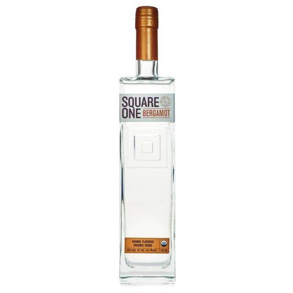 Square One Bergamot Vodka Orange Flavor (750ML)