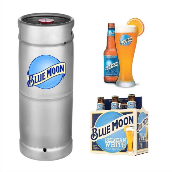 Bluemoon Blue Moon Belgian White (5.5gal Keg)