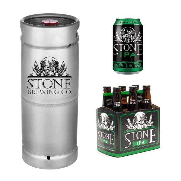 Stone Brewing Co. Stone IPA (5.5 GAL KEG)