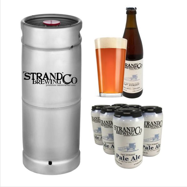 Strand Brewing Co. Strand Co. 24th Street Pale Ale (5.5 GAL KEG)