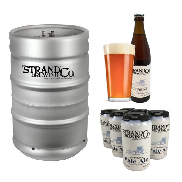 Strand Brewing Co. Strand Co. 24th Street Pale Ale (15.5 GAL KEG)