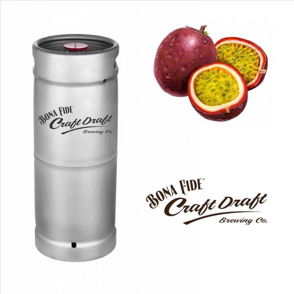 Bona Fide Bona Fide Draft Nitro Passion Fruit Tea (5.5 GAL KEG)