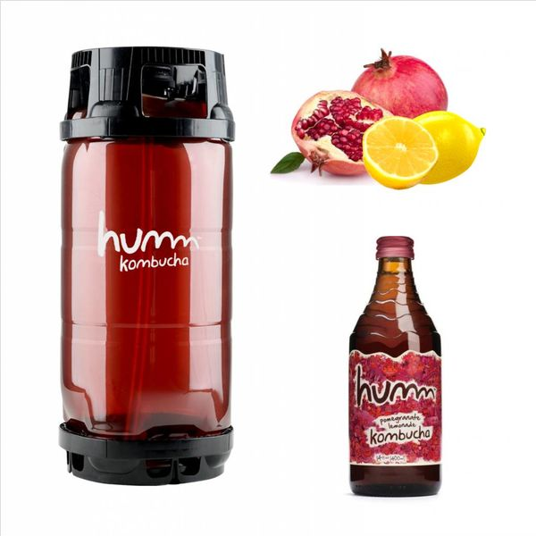 Humm Humm Kombucha Pomegranate Lemonade (5.5 GAL KEG)